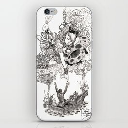 Dreaming Alice iPhone Skin
