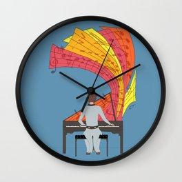 The joy of piano playing Wall Clock