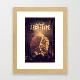 Cosmic Archetype Framed Art Print