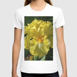 Golden Iris flower - 'Power of One' T-shirt