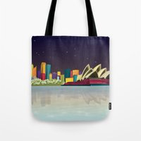 sydney Tote Bags featuring Sydney by GoFe