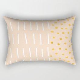PEACH BLUSH Rectangular Pillow