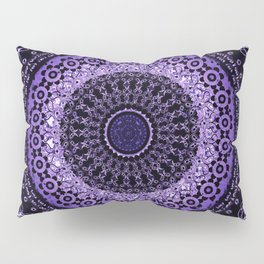 Purple Tapestry Mandala Pillow Sham