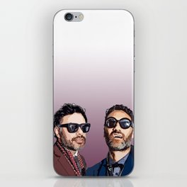 Jemaine and Taika 2 iPhone Skin