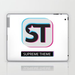 Supreme WordPress Theme Laptop & iPad Skin