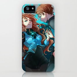 Pines Twins iPhone Case