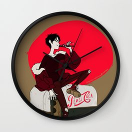 Pepsi Cola Wall Clock