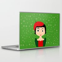 amelie Laptop & iPad Skins featuring Amelie by Creo tu mundo