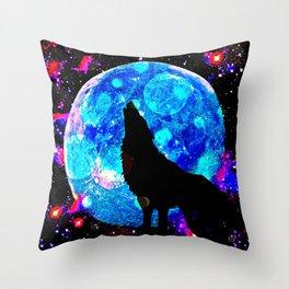 Wolf #1 Throw Pillow