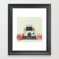 Polaroid Memories Framed Art Print