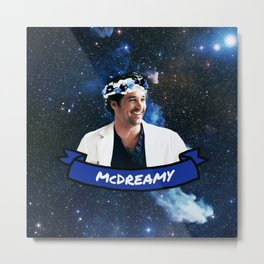McDreamy Metal Print