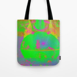 Garden of Earthly Delights - Fountain  Tote Bag