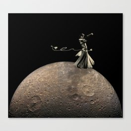 Samia Comet Canvas Print