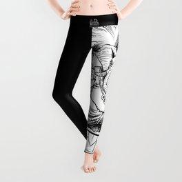 Ganesh: Black Leggings