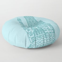 Stockholm (Cities series) Floor Pillow