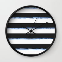 simpson Wall Clocks featuring Simpson by TypeArtist