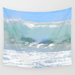 Pastel Wave Wall Tapestry