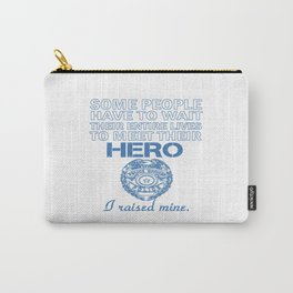 Police Officer's Mom Carry-All Pouch