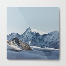 Himalaya Mountains IV Metal Print