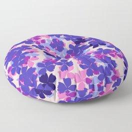 Flower Shower Floor Pillow