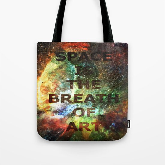 The Breath of Art Tote Bag