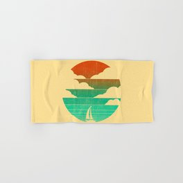 Go West (sail away in my boat) Hand & Bath Towel