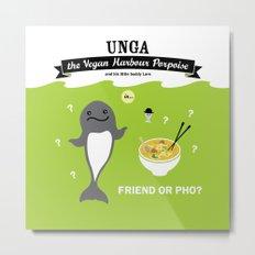 Friend or Pho? Metal Print