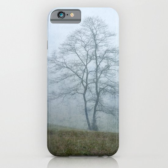 Tree in the Mist iPhone & iPod Case