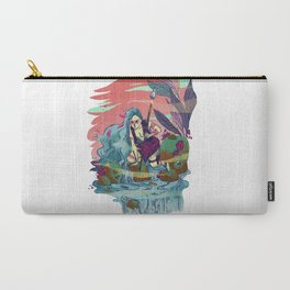 The Furious River Goddess Carry-All Pouch