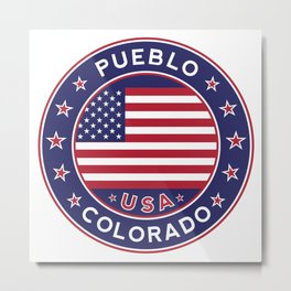 Pueblo, Colorado Metal Print
