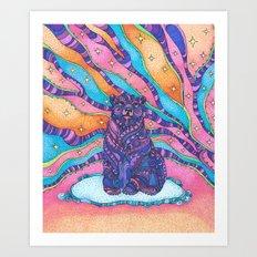 Sky Bear Art Print