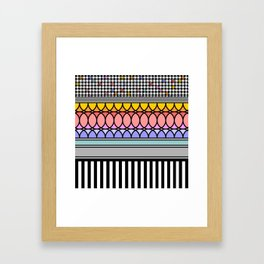 Abstract composition Framed Art Print