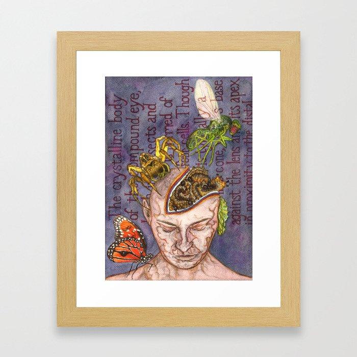 Magical Anatomy:  Chrysalis Framed Art Print