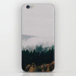 Forest Fog iPhone Skin