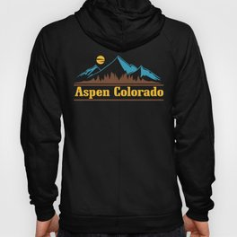 Native Colorado Gifts CO Pride State Flag Aspen Hoody