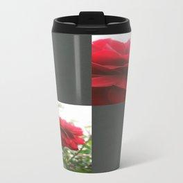 Red Rose with Light 1 Blank Q6F0 Travel Mug