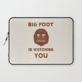 Big Foot Is Watching You Laptop Sleeve