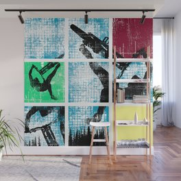 MTB Colors Wall Mural