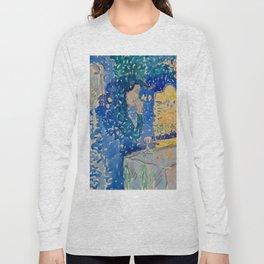 Venice Night of the Festival of the Redeemer Henri-Edmond Cross Neo-Impressionism Pointillism Long Sleeve T-shirt