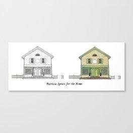 Patricia Spratt for the Home Canvas Print