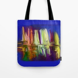 The Magic Fountains of Lima Tote Bag