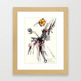 m1n410y Framed Art Print