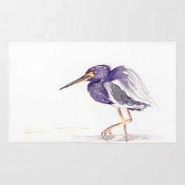 Tricoloured Heron Rug