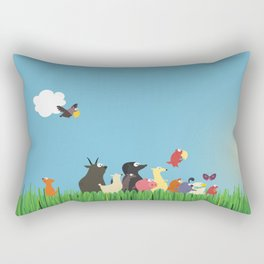 What's going on the farm? Kids collection Rectangular Pillow
