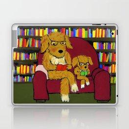 Reading dogs Laptop & iPad Skin