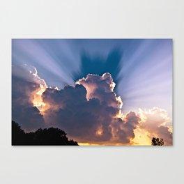 Heavenly Skies Canvas Print