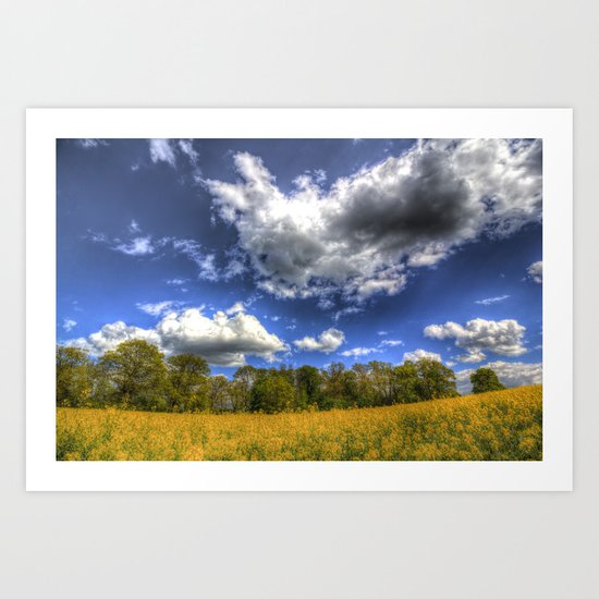 Summer Farm Art Print