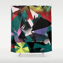Crystals Shower Curtain