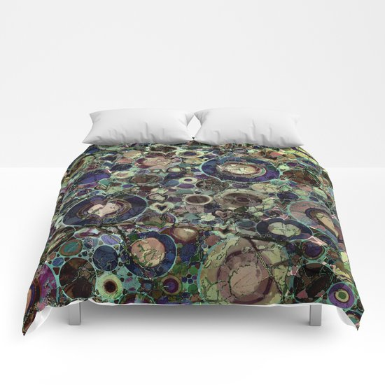 Stone Pattern Fantasy Comforters