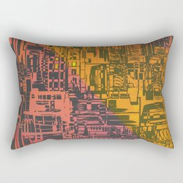 Where Are YOU / Density Series Rectangular Pillow
